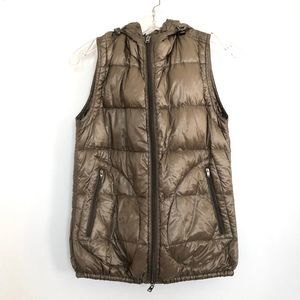 Herno Hooded Down Puffer Vest